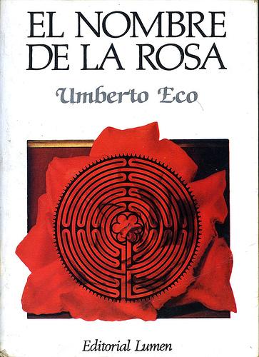 el nombre de la rosa escrito para